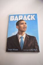 Barack by Jonah Winter (2008, Hardcover) First Edition