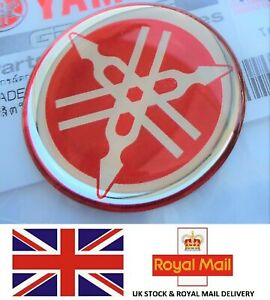 Yamaha Tuning Fork Stickers Decals 30mm DT MX YZ YZF * GENUINE YAMAHA *