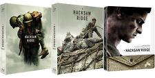 Hacksaw Ridge .Blu-ray Steelbook / Full Slip, Lenticular, Quarter 1/4 Slip
