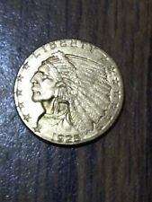 1925 D Indian Head $2.50 Dollar Gold Coin