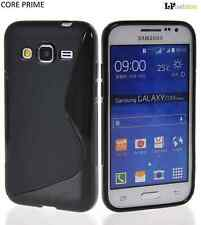 CUSTODIA per GALAXY CORE PRIME G360 SAMSUNG NERO COVER