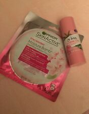 Skin Cleanser Lot Rosewater Bamboo Face Wash Stick St Ives + Garnier Sheet Mask