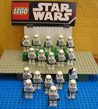 "STAR WARS LEGO LOT MINIFIGURE--MINI FIG  ""   LOT OF 18 STORM  TROOPERS   """
