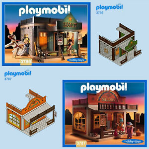 Playmobil * SHERIFF'S OFFICE 3786 SALOON 3787 BANK 6478 * SPARE PARTS SERVICE *