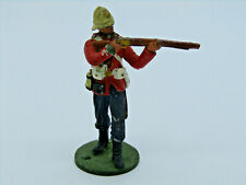 VINTAGE CEREMONIAL METAL TOY SOLDIER AIMING RIFLE 1879