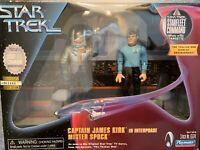 "Playmates STAR TREK Kirk In EVA SUIT & Spock as Seen In ""The THOLIAN Web."" New"
