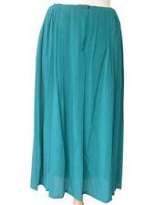 $600+ NWT Kiton Women's  Blue-Green Skirt euro 42 US 6