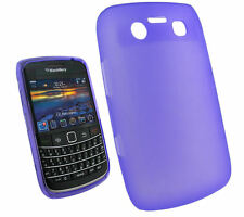 NEW Purple Gel Case Skin Cover for BlackBerry 9700 Bold