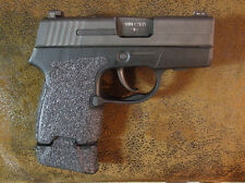 Black Textured Rubber Grip Enhancements for Sig Sauer P290RS in 9mm & 380 ACP