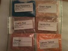 Flossine 6 Pack diferentes hilo de algodón de azúcar sobre colorante & Aromatizante