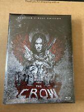The Crow 3 Disc Mediabook Blu Ray New & Sealed Rare Import OOP Brandon Lee
