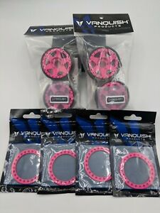 Vanquish Products Breast Cancer Awareness Wheels And Beadlocks Pink NIP