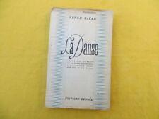 La Danse - Serge Lifar - 1938