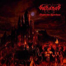 SATHANAS - NIGHTREALM APOCALYPSE  CD BLACK DEATH USA METAL NECROVORE