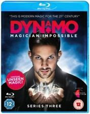 DYNAMO MAGICIAN IMPOSSIBLE COMPLETE SERIES 3 Blu Ray New UK Season Third MAGIC