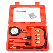 300 PSI Car Engine Cylinder Pressure Gauge Diagnostic Tool Compression Tester US