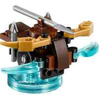 Lego Dimensions Lord of the Rings 71219 Arron Launcher & Base Only Minifigure