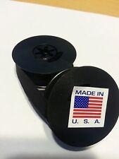 "Universal Typewriter Ribbon Twin Spool Black Ink  1/2"" Cloth Ribbon - New Unused"