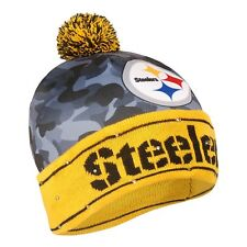2734e5f866d Pittsburgh Steelers Camouflage Light Up NLF Football Printed Beanie