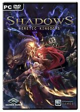 Shadows Heretic Kingdoms (PC DVD) BRAND NEW SEALED