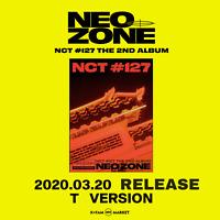NCT 127 2nd Album #127: Neo-Zone - VERSION T <PRE-ORDER> FREE STICKER SHEET