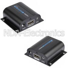 1080P HDMI Network Extender Over Cat6 with IR Ethernet Cable Upto 196ft. 60M