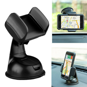 360 In Car Universal Phone Holder Dashboard Suction Mount Windscreen Stand UK
