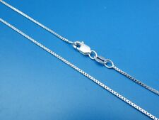Lot of 4 925 Sterling Silver 1mm Box Chain Necklace  *Wholesale Prices*