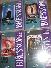 4 dvd R.Bresson sigillati-Diario di un curato Mouchette Au Hasard Il processo di