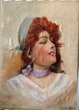 Künstlerische Malereien im Art Nouveau-Porträts & Personen-Motiv