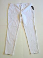 INC International Concepts {Size 16} White Super Soft Stretch Skinny NWT!!