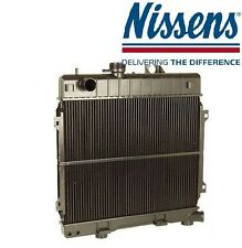 BMW E30 318i Radiator for Cars with Manual Transmission NISSENS New