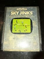 Sky Jinks (Atari 2600, 1982) *BUY 2 GET 1 FREE +FREE SHIPPING*