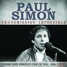 PAUL SIMON New Sealed 2020 LIVE 1960s, 70s, & 80s CONCERTS 3 CD BOXSET