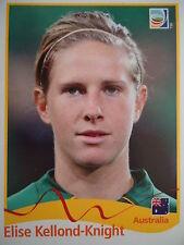 PANINI 283 Elise kellond-Knight Australia FIFA Women's World Cup 2011 GERMANY