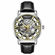 Kenneth Cole New York Mens Wrist Band Watch Automatic KC51018002 Leather