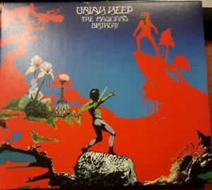 Uriah Heep - The Magician's Birthday - New Digipak 2CD Expanded Edition