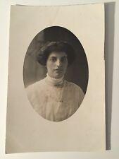 Vintage Postcard - RP Anonymous People - Woman #40