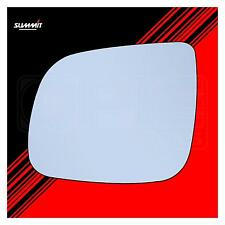 Heated Back Plate Wide Angled Mirror Glass - Summit ASRG-1009BH - Fits Audi LHS