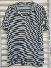 Polo Ralph Lauren Polo Shirt Men's Med  Striped 100% Cotton