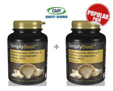 Glucosamine 500mg & Chondroitin 400mg BUNDLE DEAL 60+60 Capsules | Joint Support
