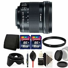 Canon EF-S 10-18mm f/4.5-5.6 IS STM Lens for Canon with Accessory Kit
