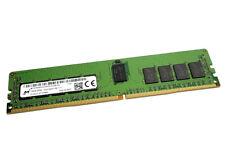 MICRON 16GB DDR4 PC4-19200 2400MHZ ECC RAM MTA18ASF2G72PDZ-2G3B1 SERVER MEMORY