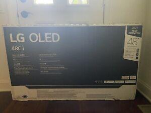 """LG C1PU 48"""" HDR 4K 120hz Ultra HD Smart OLED TV - 2021 Model"""