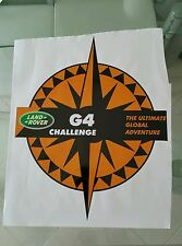 Pegatina Adhesivo Sticker Land Rover 65 CMS Discovery G4 Challenge autocollant