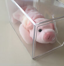 **Very Rare Squealer the Pig Beanie baby**KOREAN**With Double ERRORs**