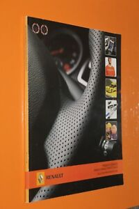 (212B) RENAULT Produits dérivés Sport Alpine Dacia 2007
