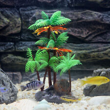 Hawaii Honolulu Tropical Island Coconut Coco Tree Aquarium Fish Tank Decoration