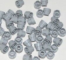 Lego Lot of 50 Light Bluish Gray Technic Driving Ring Extension