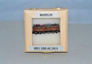 Z Scale Marklin 8851 SBB Ae 3/6 II 10460 Electric Locomotive